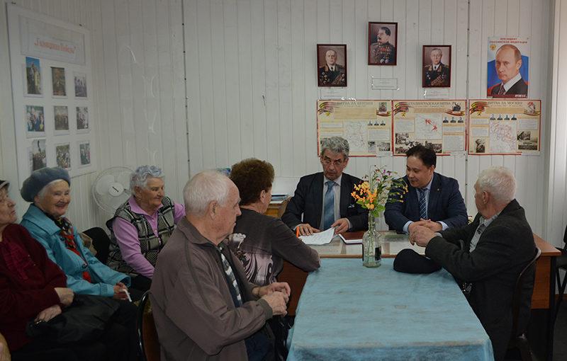 Встреча Марата Изгутдинова с ветеранами завода