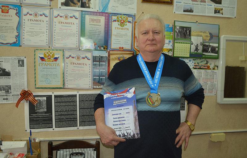 Сотрудник РАТЕПа доказал свою силу на чемпионате России