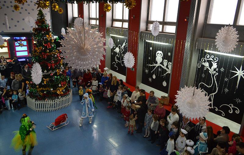В ДК «РАТЕП» прошли Новогодние ёлки