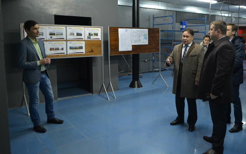 Посещение Главой города Серпухов социальных объектов ОАО «РАТЕП»