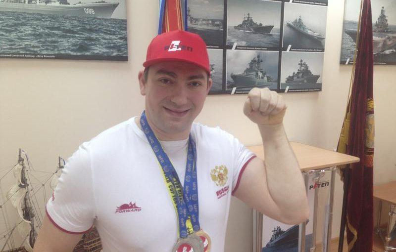 Очередная мировая победа протвинского спортсмена Руслана Мамедова