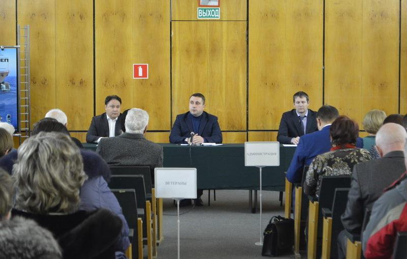 Встреча Администрации города и трудового коллектива ОАО «РАТЕП»