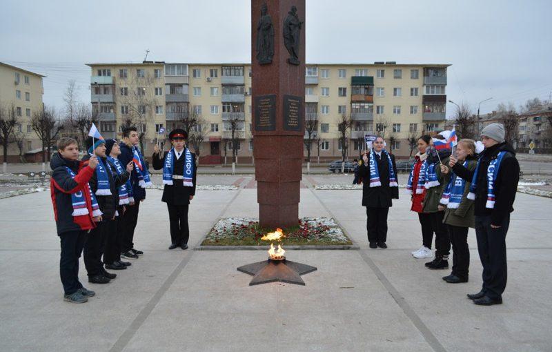 «Город воинской доблести» посетили курсанты кадетской школы и организация «Офицеры России»