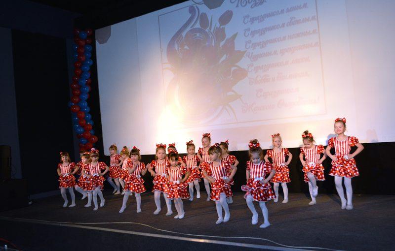 Дети подарили своим мамам праздничный концерт в ДК «РАТЕП»