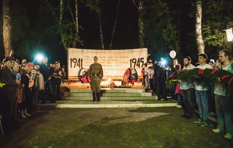 День Победы в микрорайоне имени Ногина