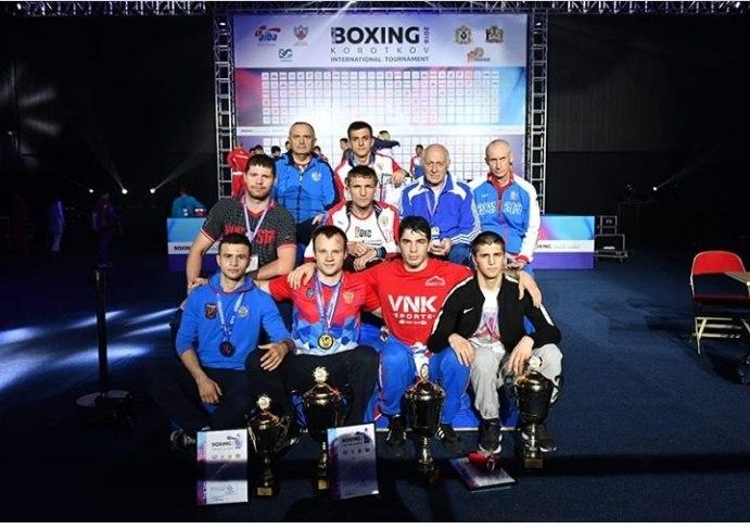 Школа бокса Дворца спорта «Олимп» не перестает удивлять своими победами