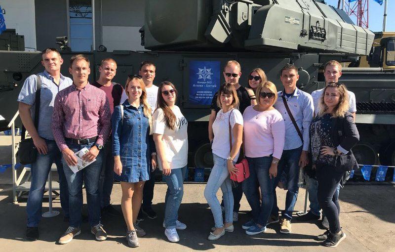 Делегация АО «РАТЕП» посетила Международный военно-технический Форум «Армия-2018»