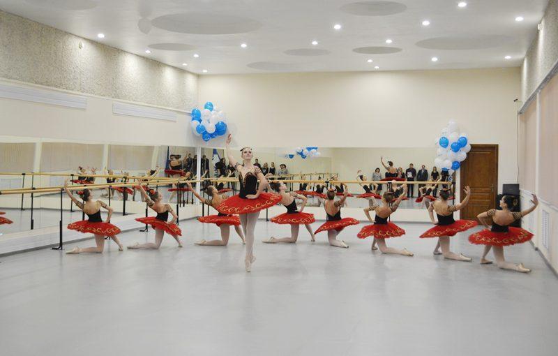 В ДК «РАТЕП» открыта новая балетная студия