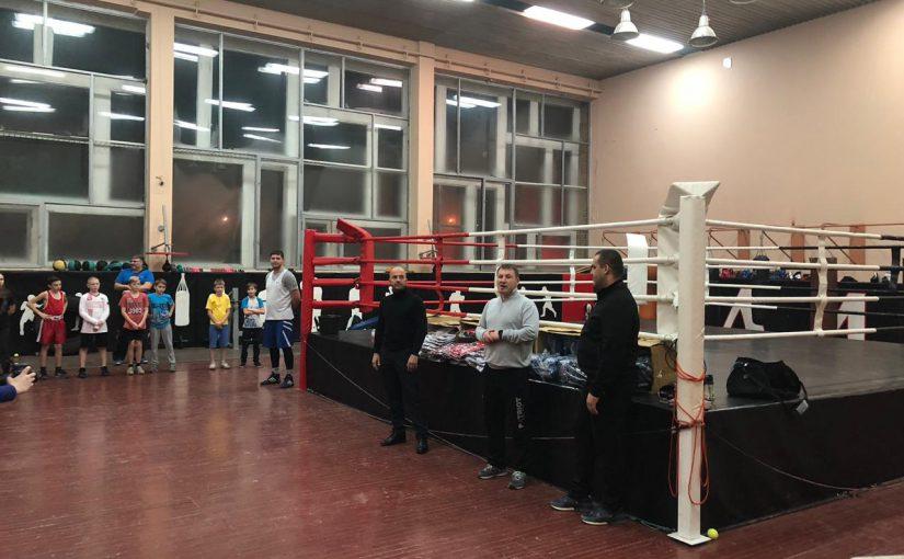 Генеральный секретарь Федерации бокса России посетил Дворец спорта «Олимп»