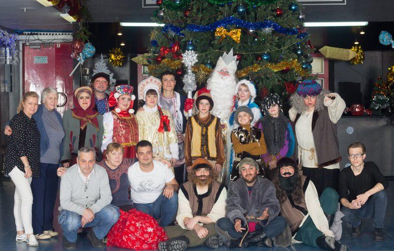 Новогодние елки в ДК «РАТЕП» прошли на УРА!